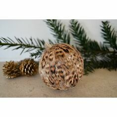 Hen Pheasant Feather Bauble