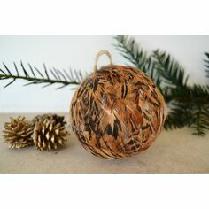 Pheasant Feather Bauble Decoration