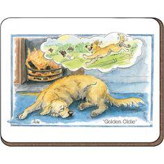 Alison's Animals 'Golden Oldie' Coaster