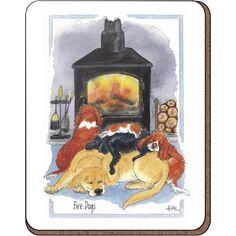Alison's Animals 'Fire Dogs' Coaster