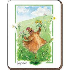 Alison's Animals 'Spring Chicken' Coaster
