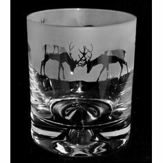 Animo Glass Stag Whisky Tumbler