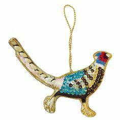Grays Pheasant Christmas Tree Decoration