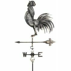 Primus 3D Crowing Cock Weathervane with Garden Stake