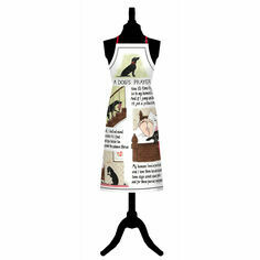 Tottering By Gently Dogs Prayer Cotton Apron