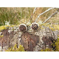 Red Deer Antler Cufflinks