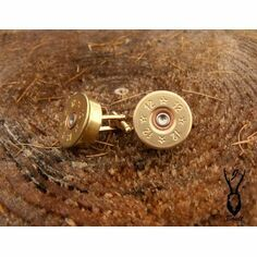 Gold Plated Cartridge Cufflinks