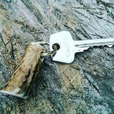 Red Deer Antler Key Ring