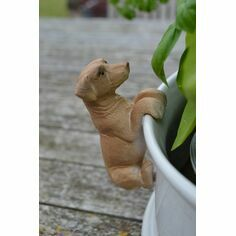 Golden Labrador Pot Hanger