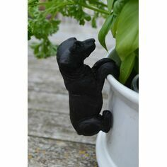 Black Labrador Pot Hanger