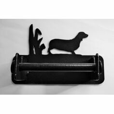 Wall Mounted Dachshund Loo Roll Holder