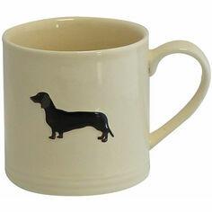 Bailey & Friends Dachshund Cream Mug