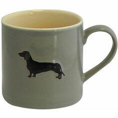 Bailey & Friends Dachshund Grey Mug
