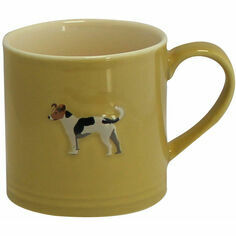 Bailey & Friends Jack Russell Mustard Mug