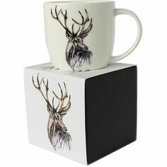 Meg Hawkins Stag Mug