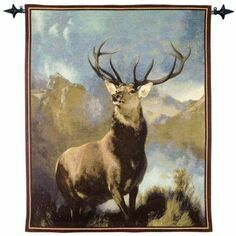 Hines of Oxford Monarch of the Glen Tapestry