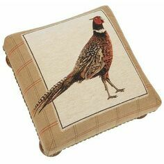 Hines of Oxford Strutting Pheasant Footstool