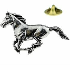 Galloping  Horse Lapel Pin