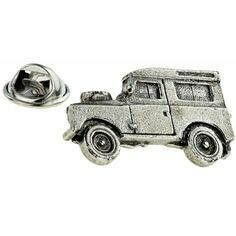 Land Rover Pewter Lapel Pin
