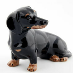 Quail Ceramics Dachshund Money Box
