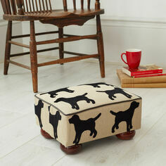 The Labrador Company Eaton Labrador Small Footstool