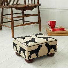 The Labrador Company Eaton Spaniel Footstool