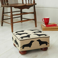 The Labrador Company Eaton Dachshund Small Footstool