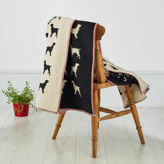 The Labrador Company Spaniel Blanket