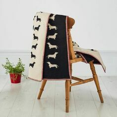 The Labrador Company Dachshund Blanket