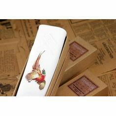 Single Pheasant Handkerchief