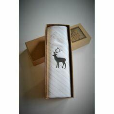 Single Stag Handkerchief