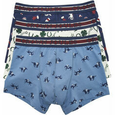 Joules Crown Joules Race Day 3 Pack Boxers