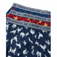 Joules Crown Joules Top Dog 3 Pack Boxers