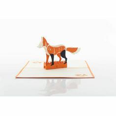 For Fox Sake Pop Up Card