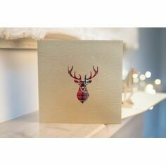 Stag Pop Up Card