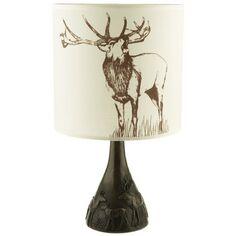 Philip Turner Cold Cast Bronze Stag Lamp