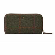 Joules Fairford Check Tweed Purse