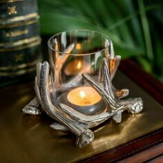 Culinary Concepts Antler Tea Light Holder