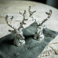 Culinary Concepts Stag Head Salt and Pepper Shakers