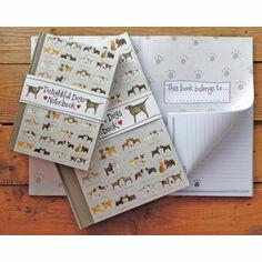 Alex Clark Delightful Dogs Hardback Journal
