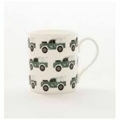 Izzirainey Green Landrover Mug