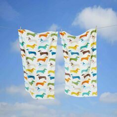 Dachshund Sausage Multi Dog Towel