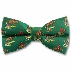 Huntsman Bow Tie In Green