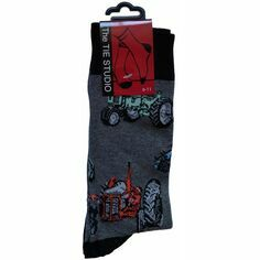 Vintage Tractor Socks