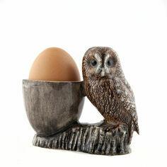 Quail Ceramics Tawny Owl Egg Cup