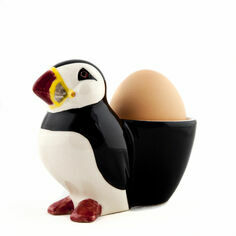 Quail Ceramics Puffin Egg Cup