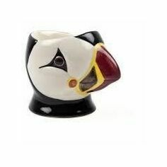 Quail Ceramics Puffin Face Egg Cup