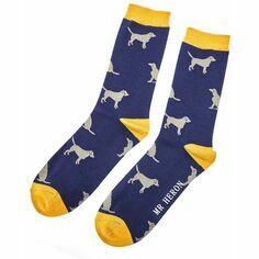 Men's Navy Labrador Socks