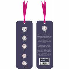Sheep Bookmark Purple