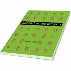 Hedgehog Notebook Green